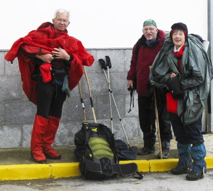 Camino friends from Germany and France