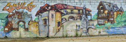 Graffiti in Comillas